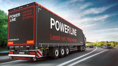 Schwarzmüller POWER LINE, noua gamă de semiremorci cu prelată pentru internațional