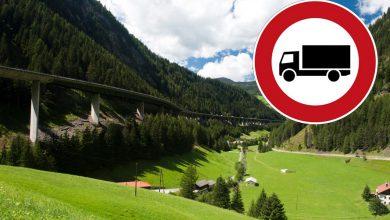 Austria: Restricții de circulație pentru camioane între Nößlach și Brenner-Nord (A13)