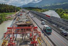ASFINAG a finalizat lucrările reconstrucție a podul Innbrücke de pe A12