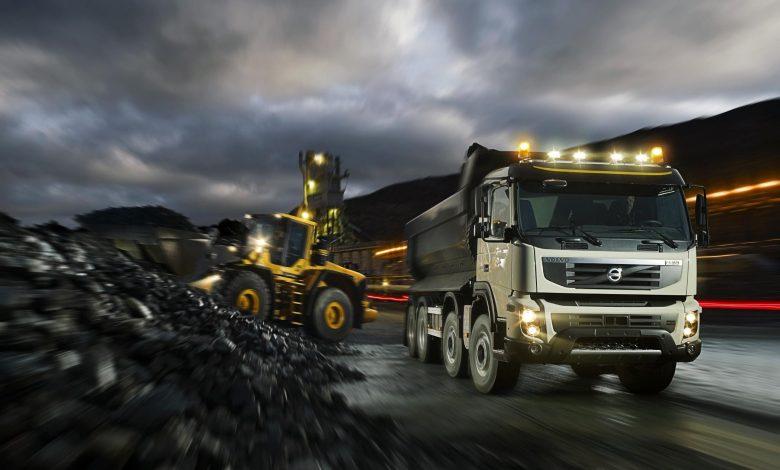 Un deceniu de la lansarea pe piață a camionului Volvo FMX
