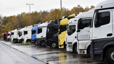 O nouă parcare pentru camioane construită în portul Lübeck