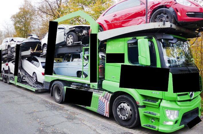 Transportor auto înmatriculat în Polonia scos din trafic în Germania