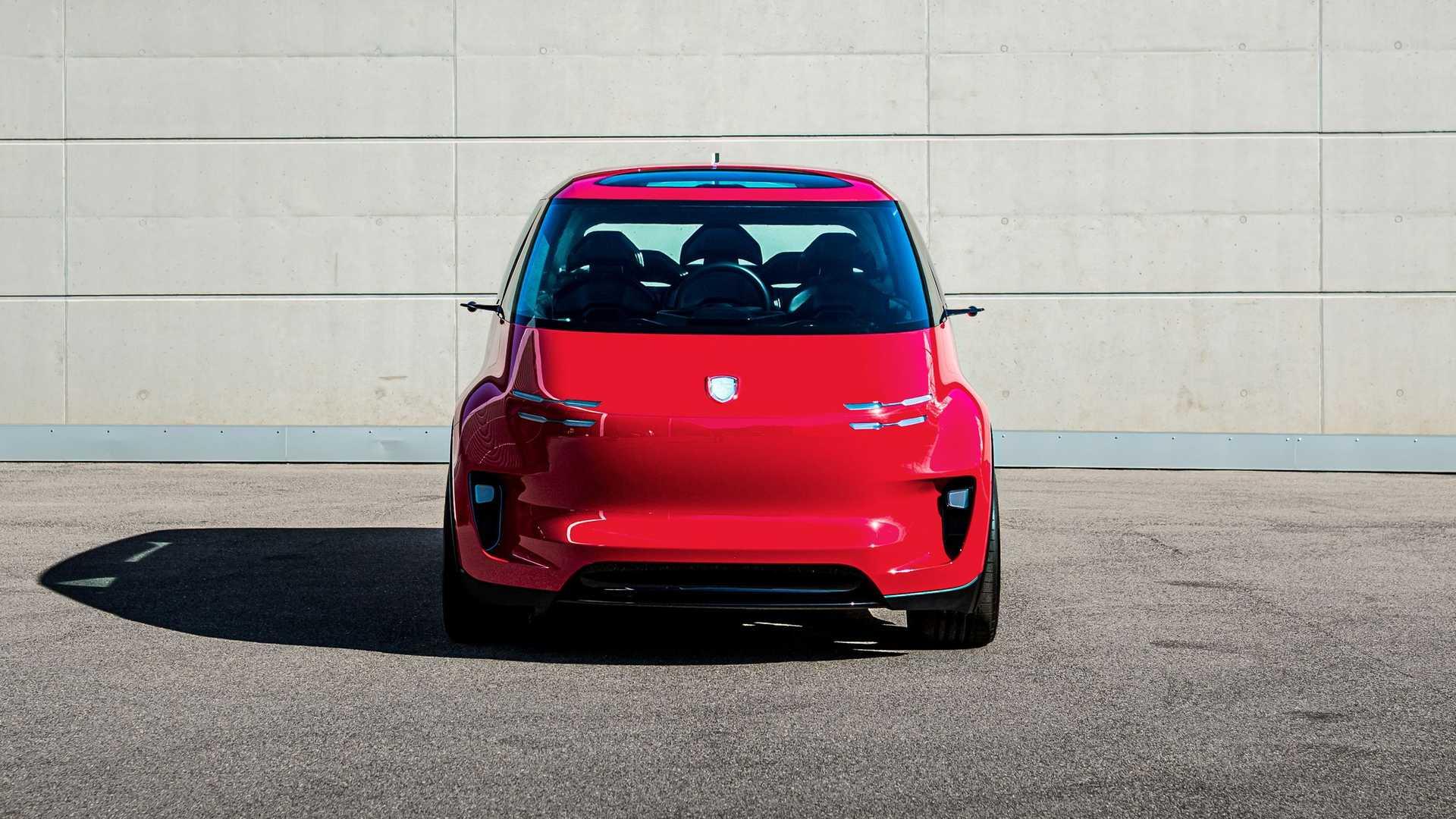 Dacă Porsche ar fi produs un monovolum, acesta ar fi fost Vision Renndienst