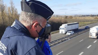 Șofer francez de camion prins că circula cu 131 km/h pe autostradă infracțiuni comise de un șofer profestionist francez