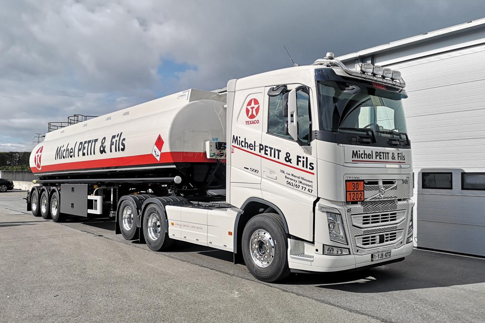 Primul transport ADR cu o greutate de 50 de tone din Belgia