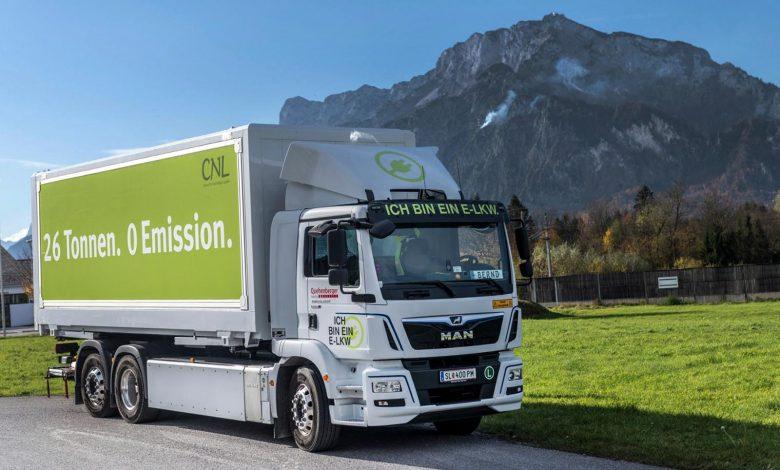 Flotele din Austria pot trecere rapid la camioane electrice