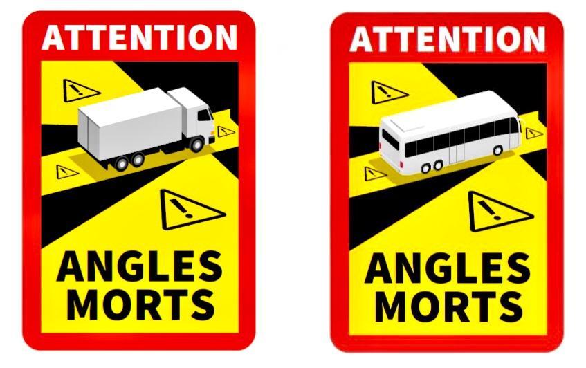 Semnalizarea unghiurilor moarte la camioane devine obligatorie în Franța