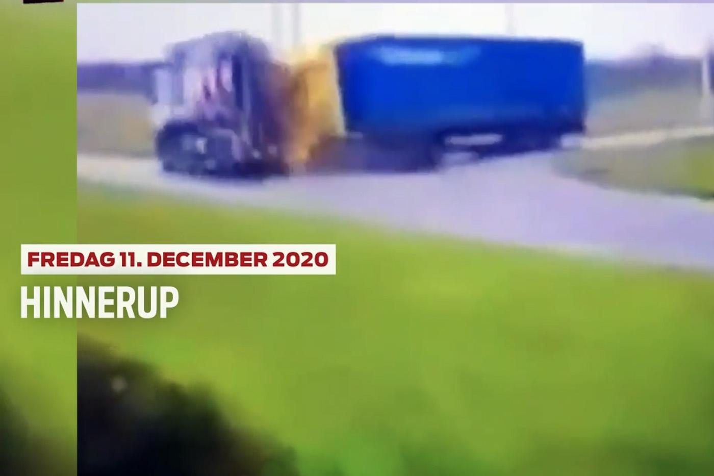 Accident rutier provocat de un camion al companiei Bon Trans, în Danemarca