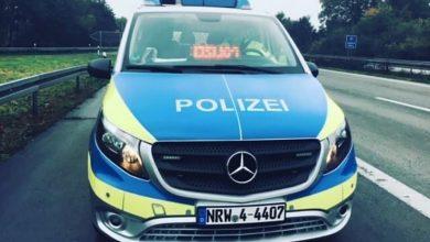Poliția germană a confiscat o autoutilitară înmariculată în România