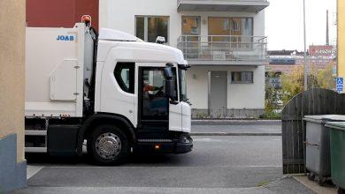 Modelul Scania L poate fi echipat opțional cu noua ușă batantă City Door