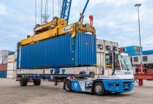 Terberg testează în portul Rotterdam un camion de terminal cu hidrogen