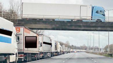 Ultimul test Brexit a generat o coadă de camioane lungă de 8 km în Kent