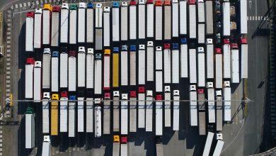 Un sfârșit de an dificil pentru transportatorii rutieri din Franța
