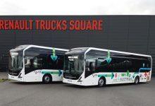 Renault Trucks folosește autobuze electrice pentru cursele speciale pentru angajații fabricii din Lyon