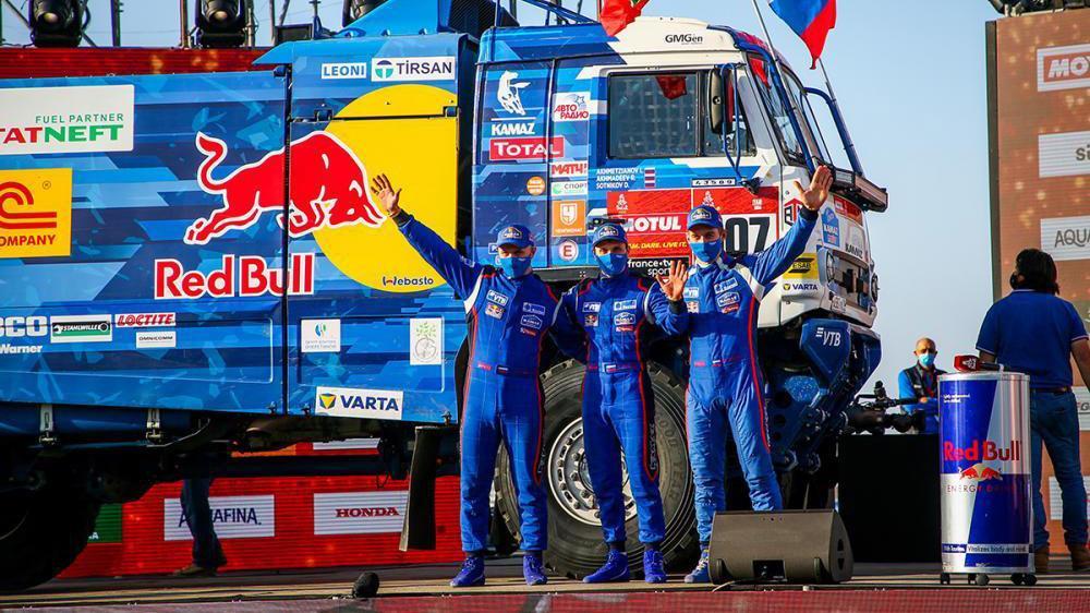 Dmitry Sotnikov aduce a 18-a victorie pentru Kamaz în Raliul Dakar