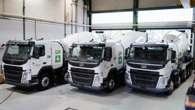 Holcim operează trei autobetoniere electrice Futuricum Concrete 40E