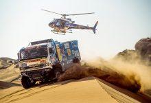 Camioanele Kamaz s-au instalat în fruntea clasamentului general Dakar 2021