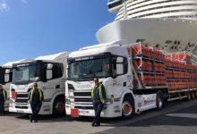 Camioanele Scania sunt utilizate în transportul de gaz din Tenerife