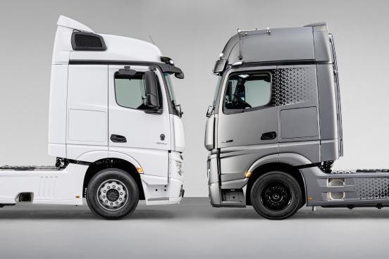 Modelele Mercedes-Benz Actros F și Edition 2 pot fi comandate și în România