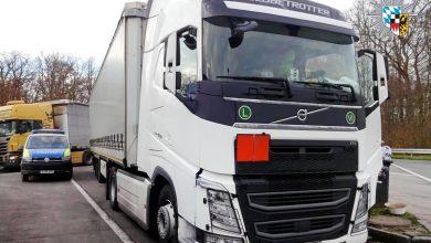 Șofer de camion cu atestat ADR fals, prins în Germania