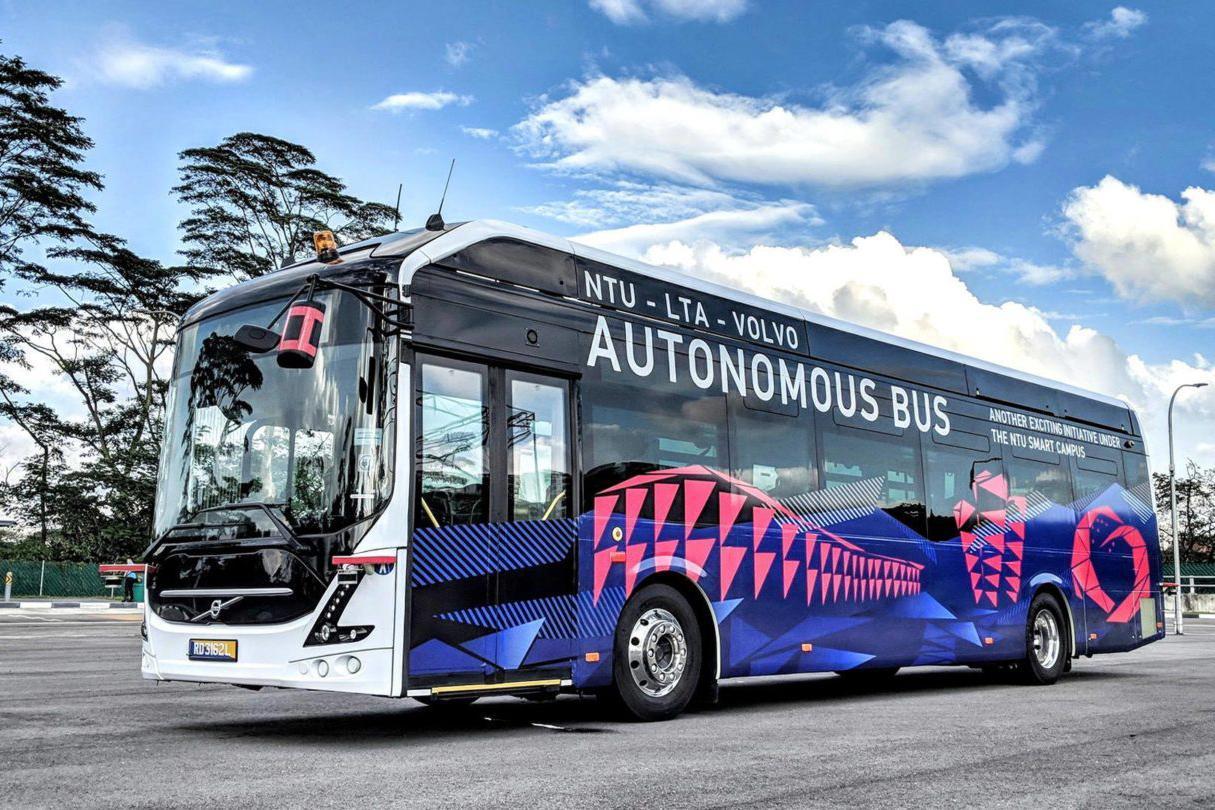 Concepte de autobuze autonome care vor revoluționa transportul public