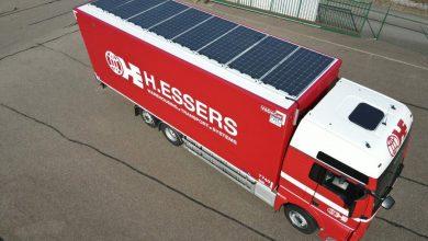H.Essers testează primele camioane echipate cu panouri solare