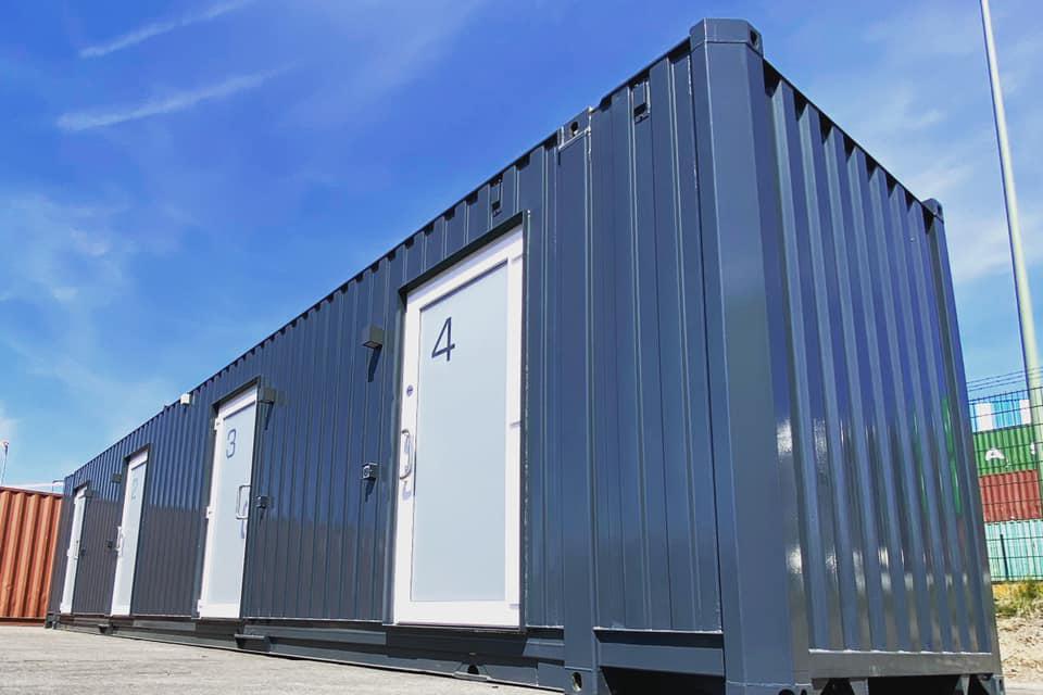 Mini hoteluri din containere maritime pentru șoferii de camion