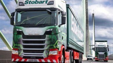 Eddie Stobart a plasat o comandă record de 2.250 de camioane Scania