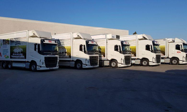 Volvo Trucks și retailerul ICA din Suedia își unesc forțele pentru a reduce impactul asupra mediului