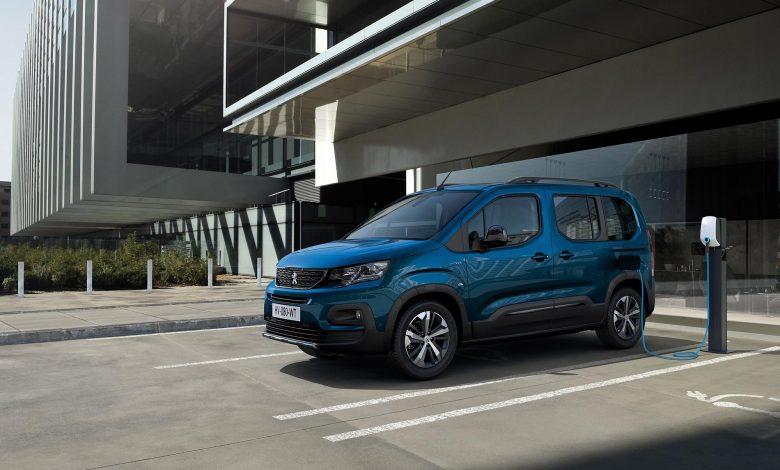 Peugeot a prezentat e-Rifter, versiunea electrică a modelului Rifter