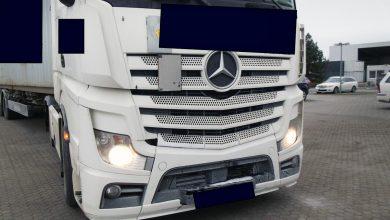 Un transportator german și-a pierdut temporar autorizația din cauza problemelor tehnice ale camioanelor