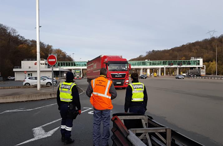 O companie poloneză a primit interdicție de a mai face transport în Franța