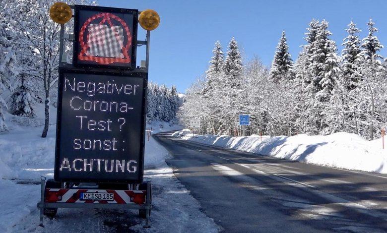 Șoferii de camion care vin din Austria în Germania, trebuie să prezinte un test COVID negativ