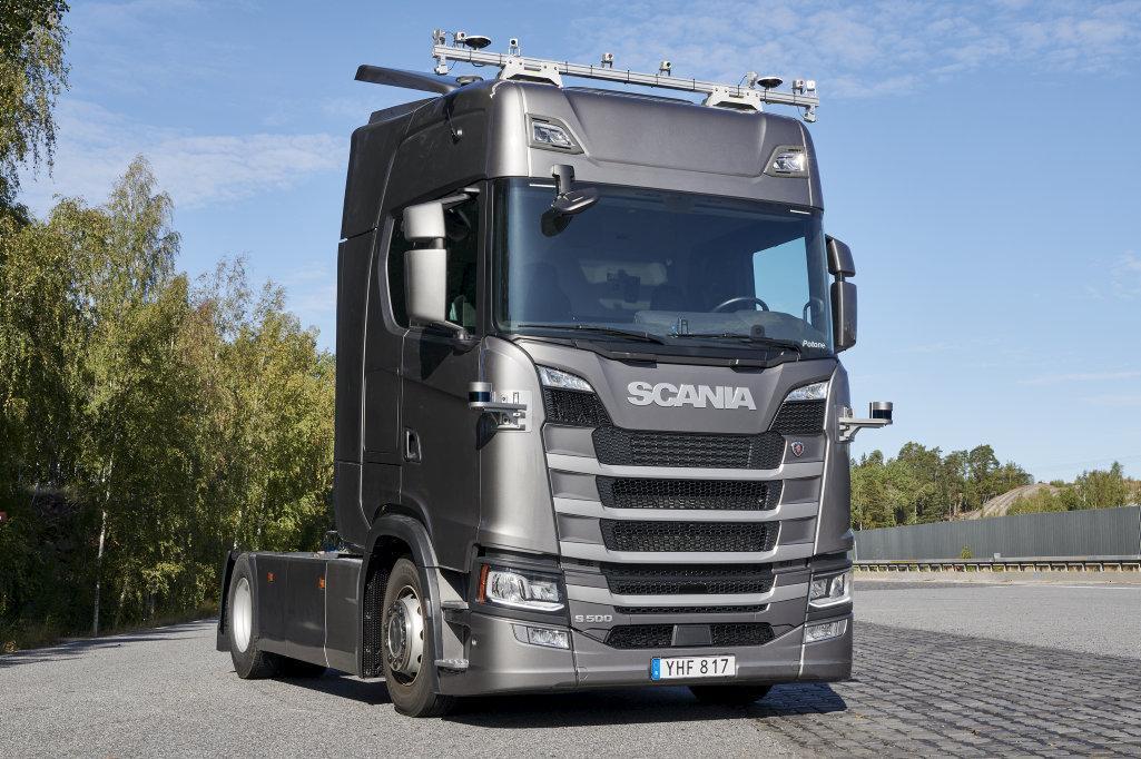 Scania va testa camioane autonome între Södertälje și Jönköping