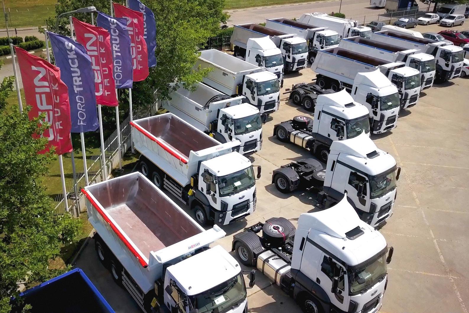 În 2020, Cefin Trucks a vândut peste 1.000 de vehicule noi și uzate