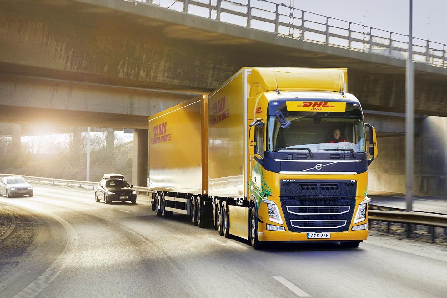 Volvo FH Electric testat în premieră mondială de DHL Freight