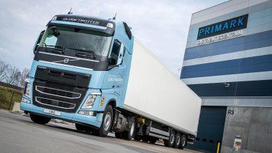 Exintra reduce emisiile de CO2 din transportul de îmbrăcăminte cu Volvo FH LNG