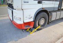 Camion scos din circulație, în Germania, din cauza problemelor tehnice
