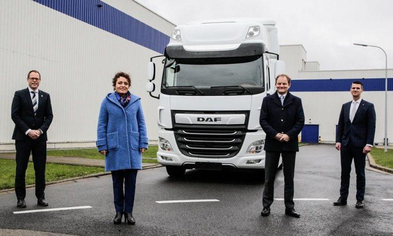 Snel Logistic vrea curse zilnice de 400 km cu un DAF CF Electric