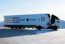 Einride va efectua livrări electrice pentru Lidl și Electrolux