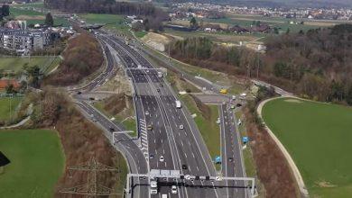 Mai puține controale la camioane în Elveția, în 2020