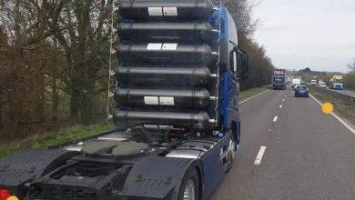 Ford F-Max cu rezervoare de hidrogen