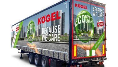 Kögel Mega Light Plus, semiremorcă mega ce cântărește doar 5.400 kg