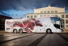 Autocar MAN Lion's Coach L pentru echipa Red Bull Leipzig