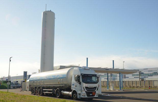 Stația de LNG și CNG din Torino, alimentată și cu biometan