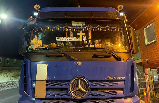 Șofer român, somat să-și elibereze parbrizul în Norvegia