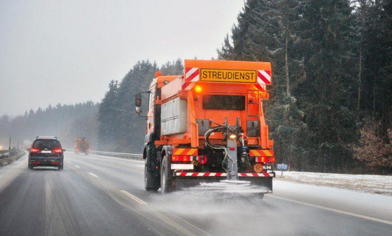 Lanțurile de iarnă sunt încă obligatorii pentru camioane pe unele drumuri din Austria