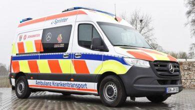 Prima ambulanță bazată pe modelul electric eSprinter