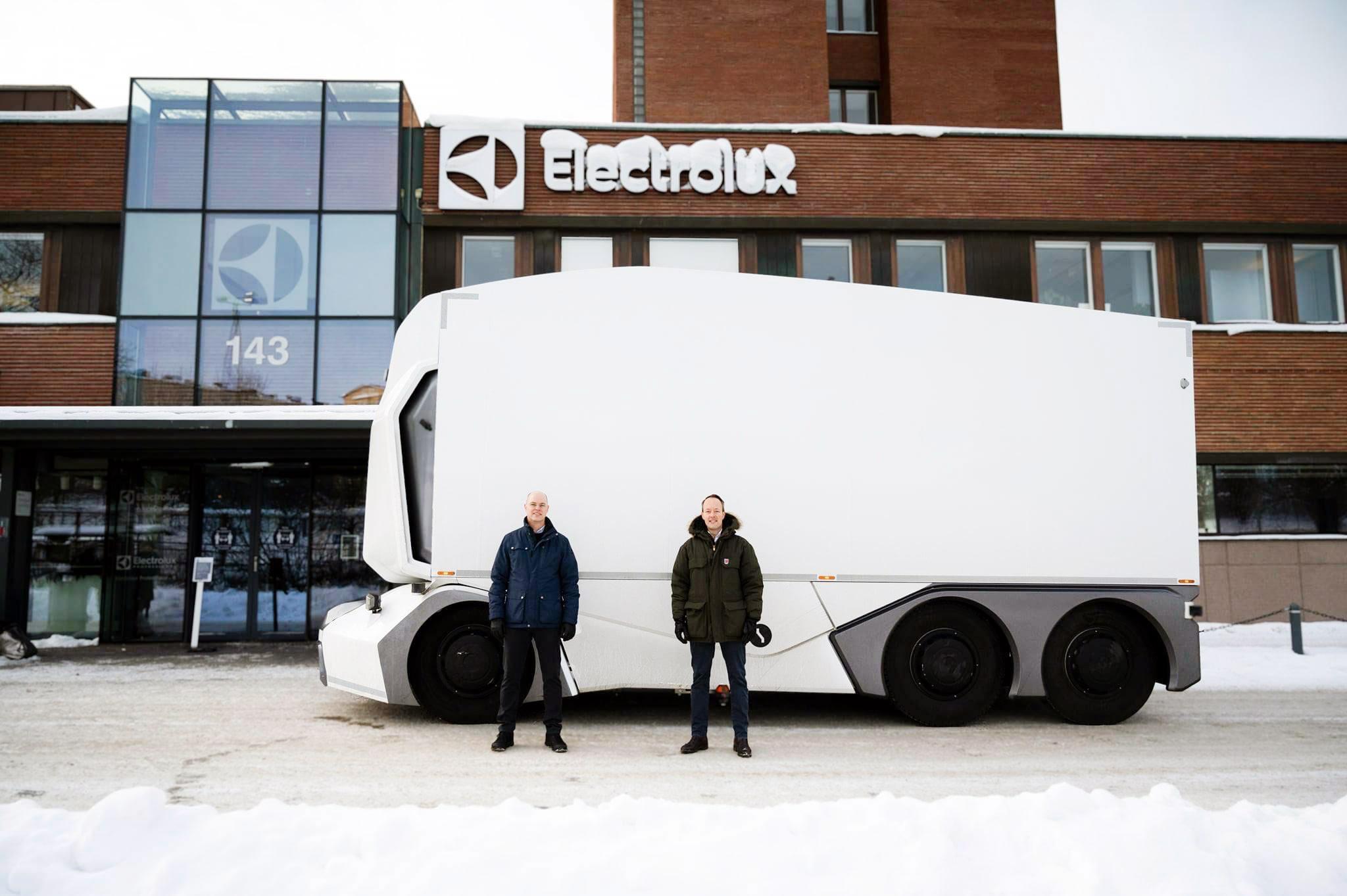Einride, livrări electrice pentru Lidl și Electrolux, în Suedia