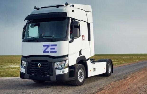 Renault va lansa în 2023 un cap tractor electric